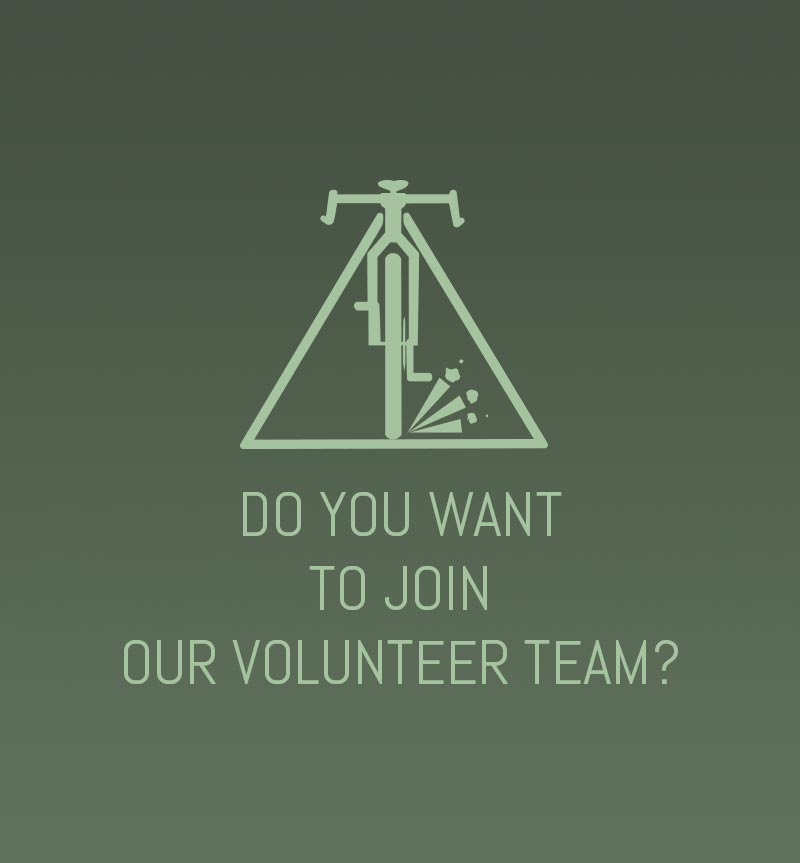 Do you want to join our Gravel Bike Volunteer team?