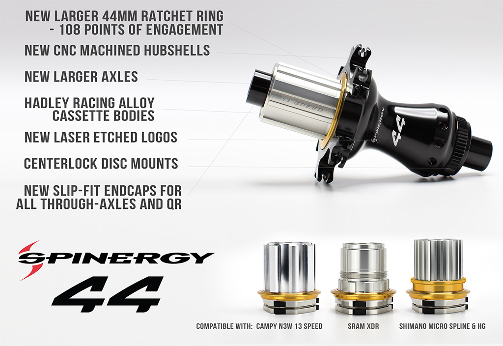 Spinergy series 44 hubs